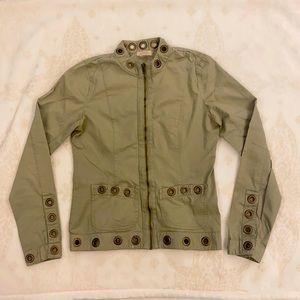 Buffalo David Bitton, Green Jacket, Size Small